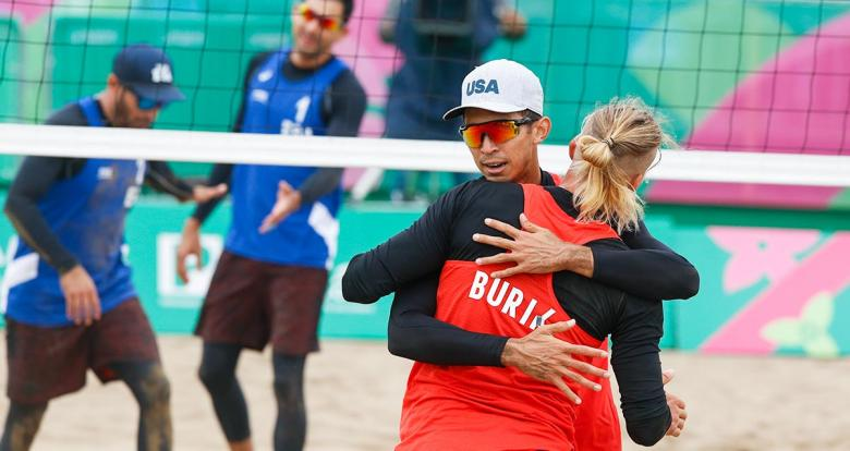 Easy victory of the USA - Beach volleyball