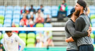Canada suffered but beat Nicaragua - Beach volleyball