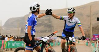 Argentina and Brazil after the mountain bike competition