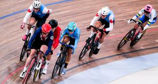 Riders show endurance in the women's Madison event at the National Sports Village – VIDENA