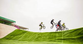 The Lima 2019 BMX competitions were held at Costa Verde San Miguel in the presence of an amazed public