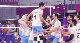 Cubans could not beat Argentinians, who took the gold home in the last men's volleyball match of the Lima 2019 Games